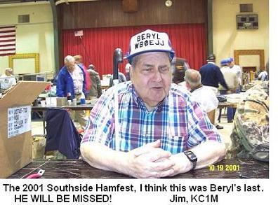 Beryl Masters - WB0EJJ SK